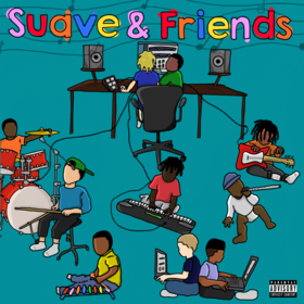 Suave & Friends SuaveBeatsss front cover