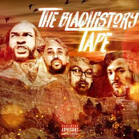 The BlaqHistory Tape Hosted By DJ JBMONEY & DJ B MOSS Various Artist front cover