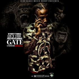 Everything Out The MotherFucking Gate Quanche front cover