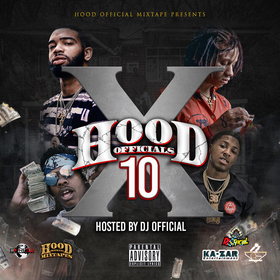 Hood Official Vol. 10 DJ Official front cover