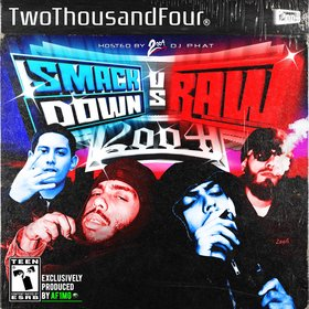 Smackdown VS Raw 2oo4 front cover