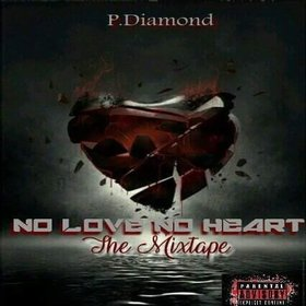 No Love No Heart P. Diamond front cover