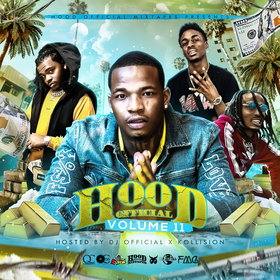Hood Official Vol. 11 DJ Official front cover