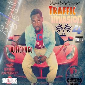 Traffic Invasion 4 DJ Stop N Go front cover