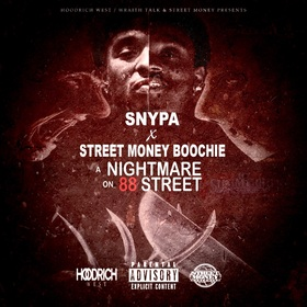 A Nightmare On 88 Street Snypa front cover