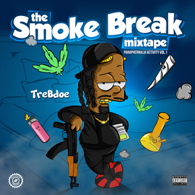 The Smoke Break Mixtape  (Paraphernalia Activity Vol. 1) TreBdoe front cover