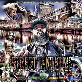 Street Anthems 72 Str8 Outta Cleveland DJ Will Money front cover