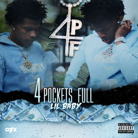 4 Pockets Full Lil Baby front cover