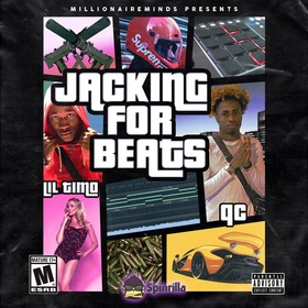 "QC & Lil Timo - ""Jacking For Beats"" QC Crenshaw front cover"