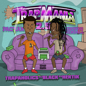 Trapmania 2.5 Pacman & Kenwood Kendall front cover