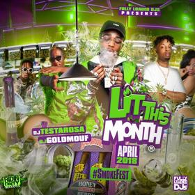Lit This Month (April 2018) DJ Testarosa front cover