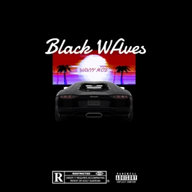 Black Waves Wavyy Mob front cover