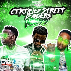 This Weeks Certified Street Bangers Vol.53 DJ Mad Lurk front cover