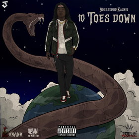 10 Toes Down BosssedUp Kashie  front cover