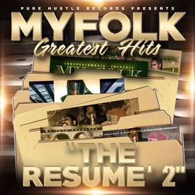 MY FOLK GREATEST HITS RESUME 2 MYFOLK  front cover