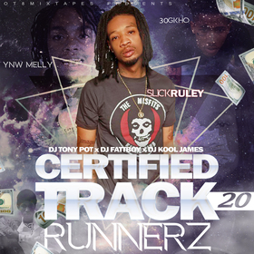 Certified Track Runnerz 20 Dj Tony Pot front cover