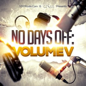 No Days Off 5 DJ Genius front cover