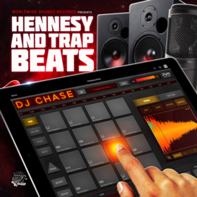 Worldwide Soundz Records - DJ Chase - Hennesy and Trap Beats (The Beat Tape) DJ Chase front cover