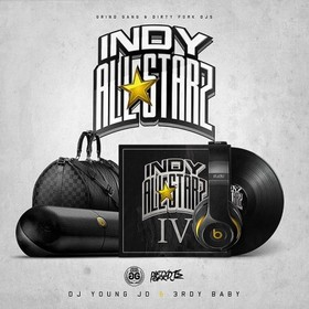 Indy All Starz 4 DJ Young JD front cover