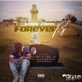 #ForeverBJ Geaux Justin front cover