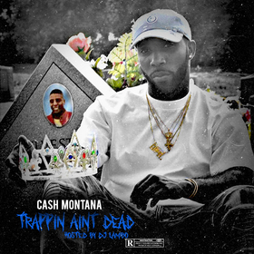 Trappin Aint Dead Dj Illy Jay front cover