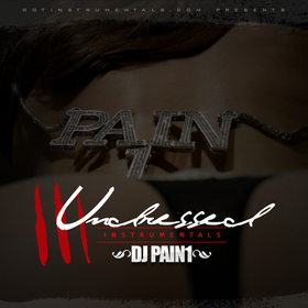 Undressed Instrumentals 3 DJ Pain 1 front cover