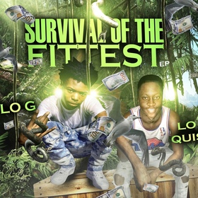 Lo Quis & Lo G-Survival Of The Fittest king koopA front cover