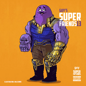Guy's SuperFriends 13 GuyATL front cover