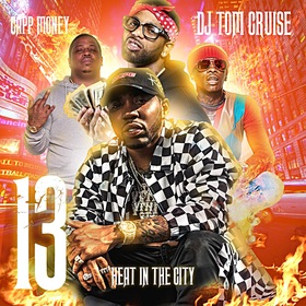 Heat In The City 13 DJ Tom Cruise front cover