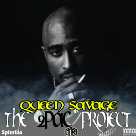 The 2Pac Project Golden Queen front cover