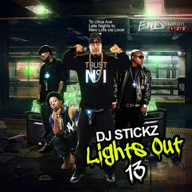 Lights Out 13 teamdjstickz front cover
