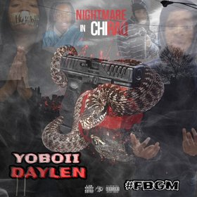 Nightmare In Chiraq YoBoii Daylen front cover