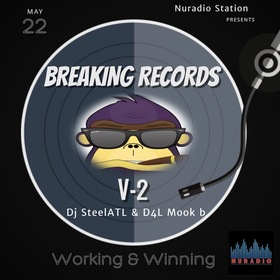 BREAKING RECORDS VOL 2 DJ Steel ATL front cover