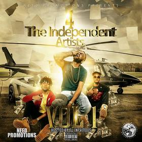 4 The Independent Artists Vol.1 DJ Infamous front cover