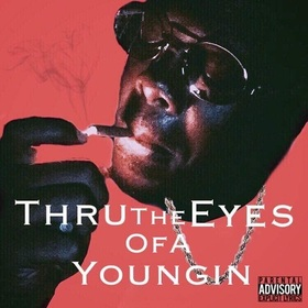 THUR THE EYES OF A YOUNGIN Slixk Sosa front cover