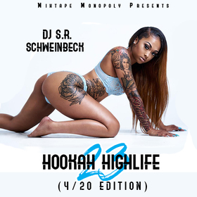 Hookah Highlife 23 (Hosted By Damar Jackson) DJ S.R. front cover