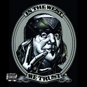 "MTG TadaCrak ""In The West WE Trust"" DJSavageSC front cover"