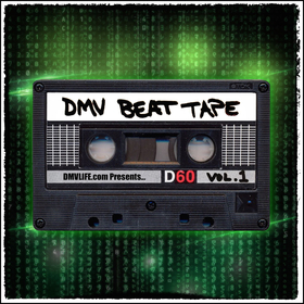 DMV Beat Tape Vol. 1 DJ Dirty Yella front cover