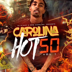 Carolina Hot 50 DJ B Eazy front cover