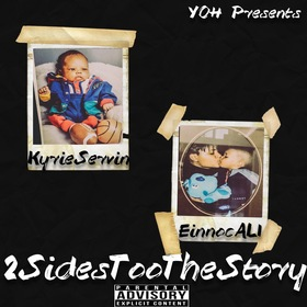 2 Sides Too The Story Einnoc Ali x Kyrie servin front cover