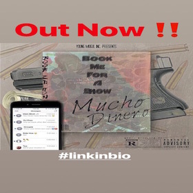 MUCHO DINERO- BOOK ME FOR A SHOW mucho dinero front cover