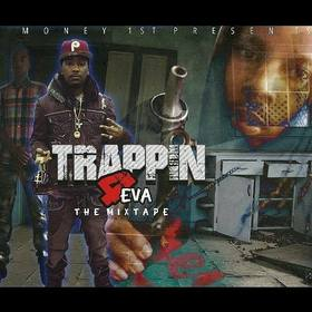 #Trappin4Eva - DJ Louie V King Chaz 072 front cover