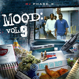 Mood: Vol. 9 (Menace II Society) DJ Phase 3 front cover