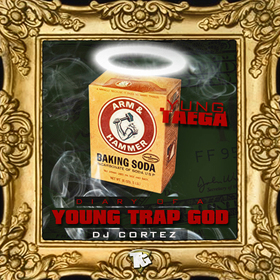Young Trap God  Yung Taega front cover