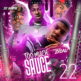 Too Much Sauce 22 DJ Smirk front cover