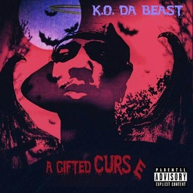 A Gifted Curse K.O. DA BEAST front cover