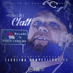Carolina Competitors 25 ( Hosted by Clatt ) DJ DERRICK GEETER front cover