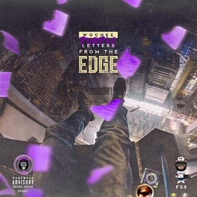 Purple Letters From The Edge Wochee front cover