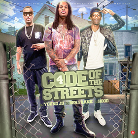 Code Of The Streets 4 DJ Young JD front cover