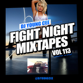 Dj Young Cee Fight Night Mixtapes Vol 113 Dj Young Cee front cover
